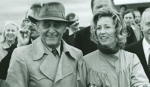 Sir Georg e Lady Solti nel 1978