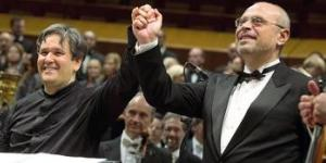 Antonio Pappano e Ciro Visco